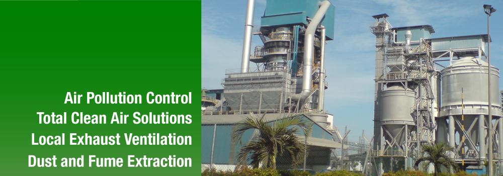 Air Pollution Control Equipment Local Exhaust